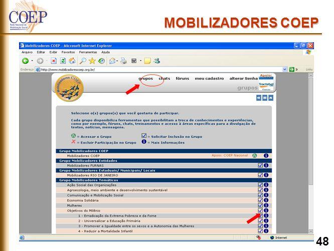 MOBILIZADORES COEP 48