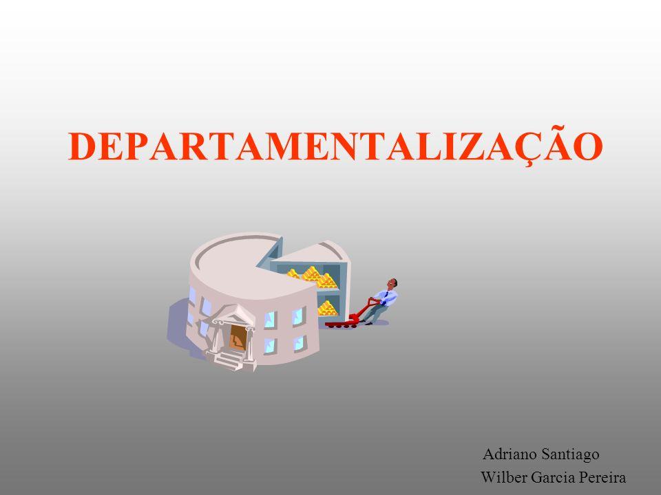 DEPARTAMENTALIZAÇÃO CONCEITO É uma divisão do trabalho por especialização dentro da estrutura organizacional da empresa.