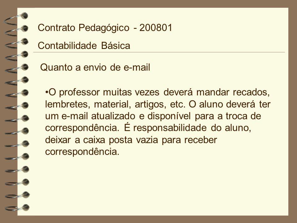 Bibliografia Complementar: IUDÍCIBUS, Sérgio.