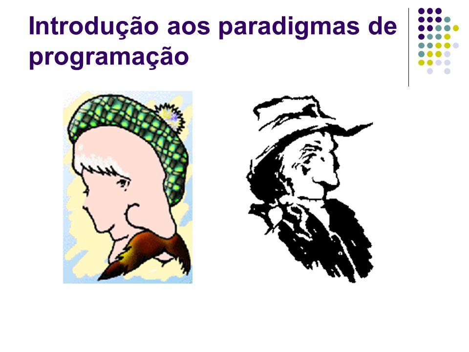Paradigma imperativo Cobol, C, Pascal, Basic, etc...