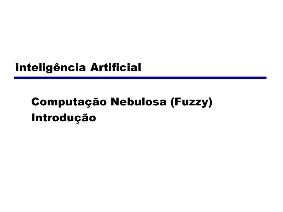 Inteligência Artificial Computação Nebulosa (Fuzzy) Introdução