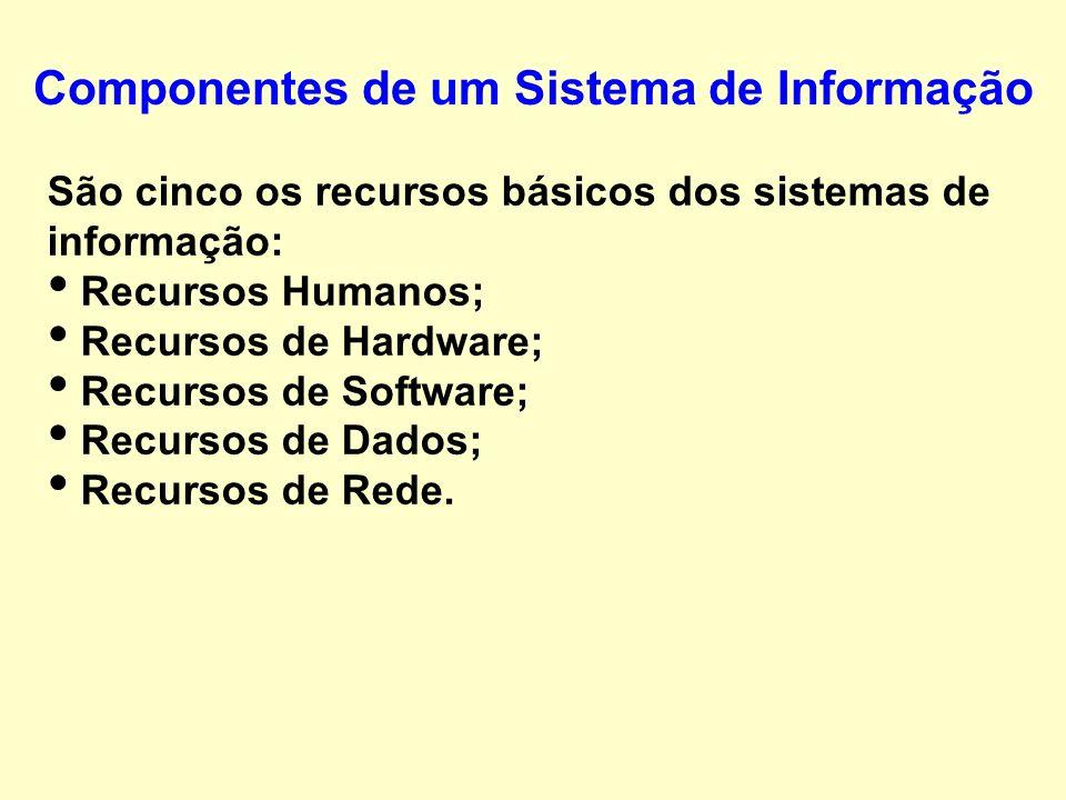 Um Sistema é um grupo de componentes inter- relacionados que trabalham juntos rumo a uma meta comum, recebendo insumos e produzindo resultados em um p