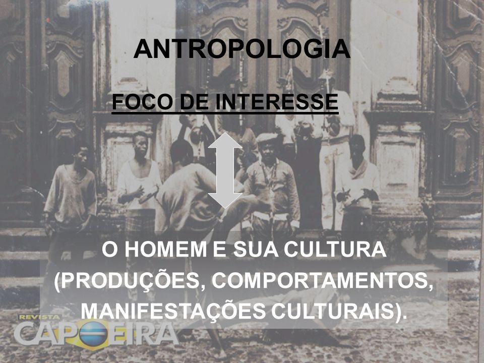 ANTROPOLOGIA ANTROPOLOGIA COMO CIÊNCIA: MEADOS DO SÉCULO XIX.