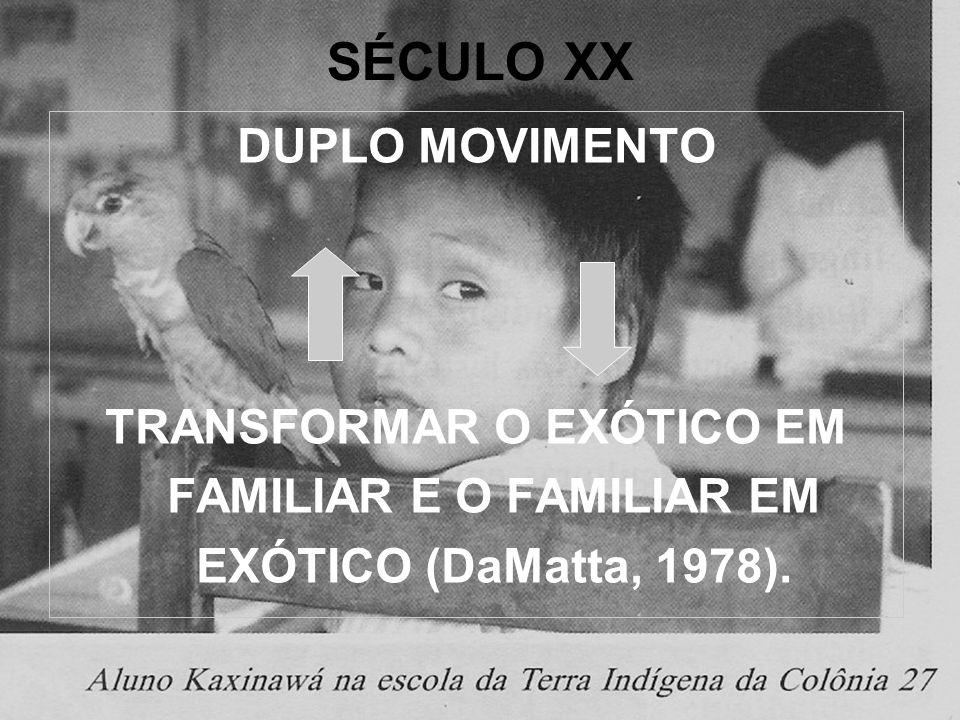 SÉCULO XX: MUDANÇAS NO CONCEITO DE CULTURA.