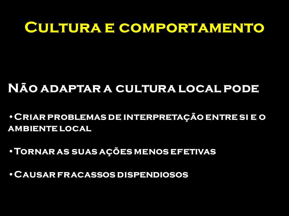 A empresa em processo de expansão Nova cultura local implica aculturação empresarial Quais os impactos de uma diferente cultura no nosso negócio?