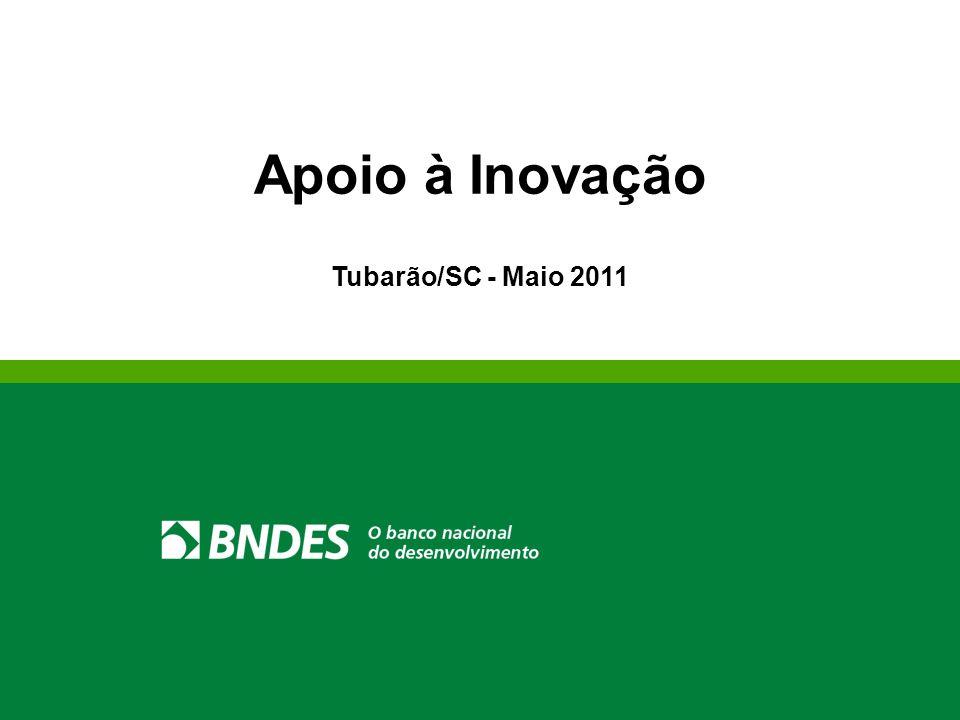 Agenda Informações Institucionais Política de Inovação do BNDES Instrumentos de Apoio à Inovação Linhas Programas Fundos Cartão BNDES
