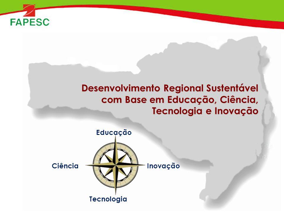 Desenvolvimento Regional Sustentável com Base em Educação, Ciência, Tecnologia e Inovação Educação Ciência Tecnologia Inovação