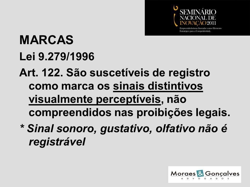 MARCAS Lei 9.279/1996 Art. 122.