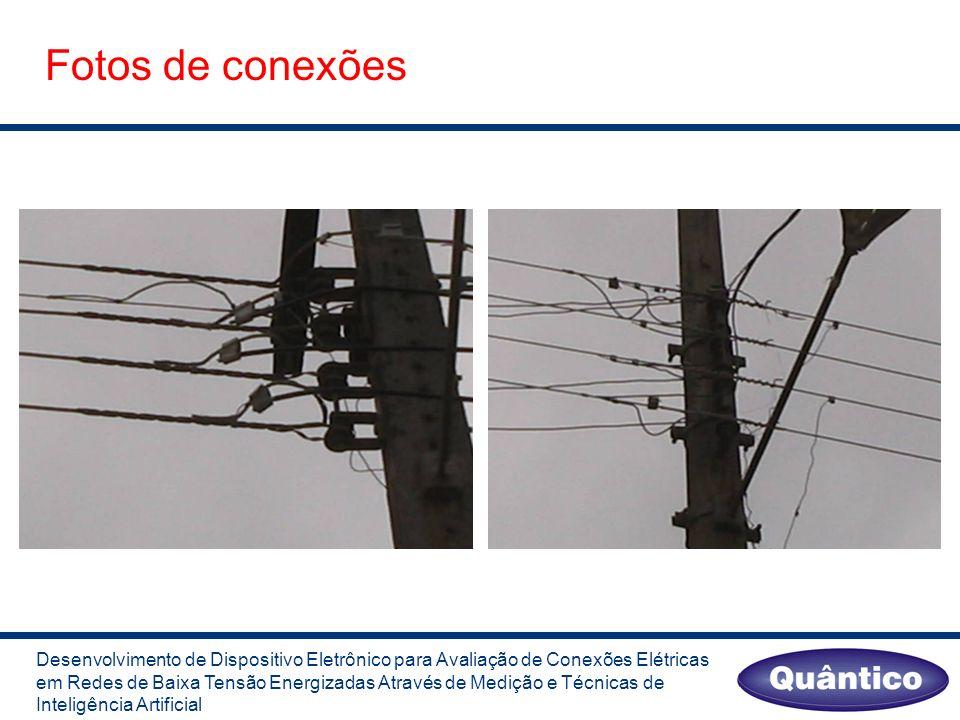 Fotos de conexões Desenvolvimento de Dispositivo Eletrônico para Avaliação de Conexões Elétricas em Redes de Baixa Tensão Energizadas Através de Medição e Técnicas de Inteligência Artificial