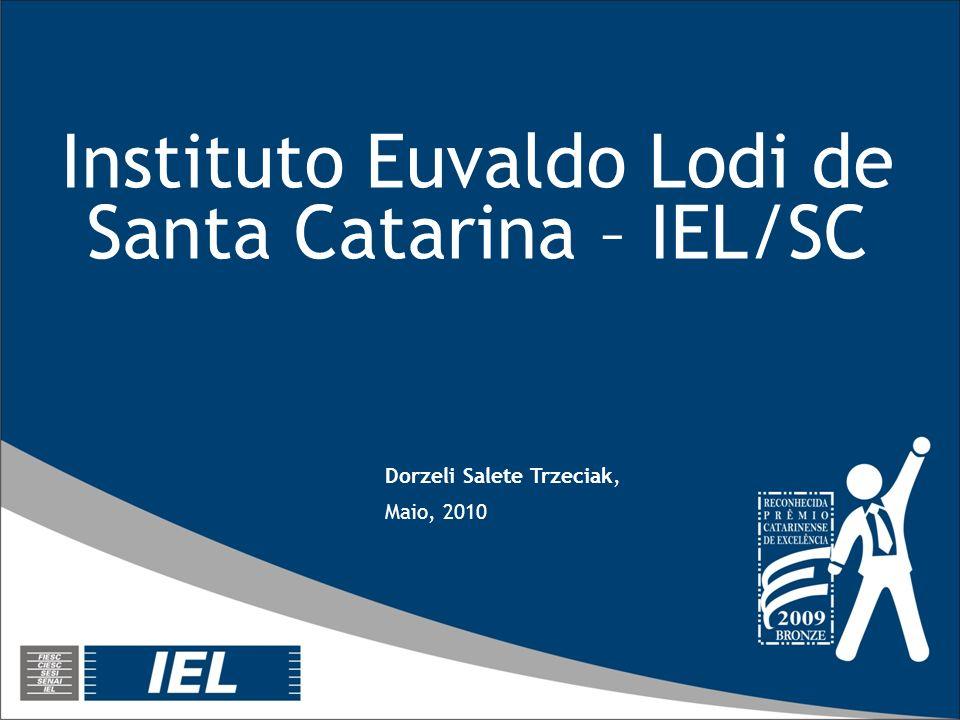Instituto Euvaldo Lodi de Santa Catarina – IEL/SC Dorzeli Salete Trzeciak, Maio, 2010