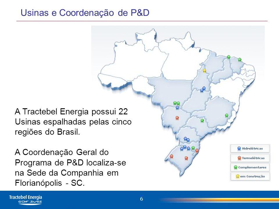 7 Abrangência do Programa de P&D 8 estados brasileiros (RS, SC, PR, MS, SP, RJ, MG, DF).