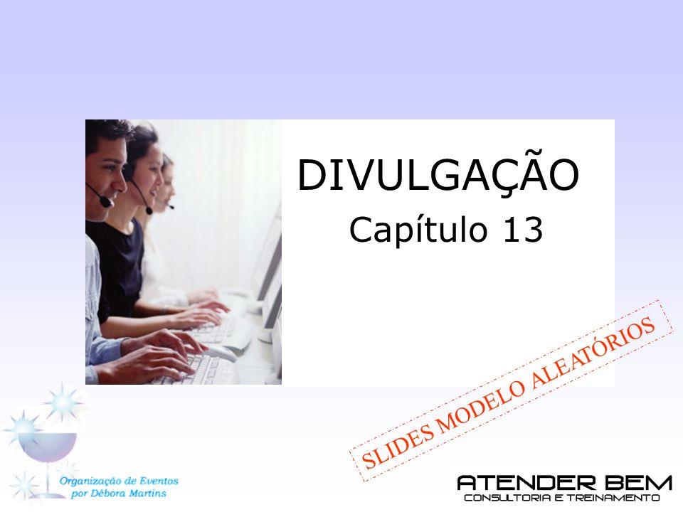 DIVULGAÇÃO Capítulo 13 SLIDES MODELO ALEATÓRIOS