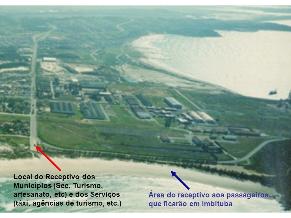 Canto da Praia da Vila Receptivo Regional Municípios, artesanato, táxi, agências de turismo