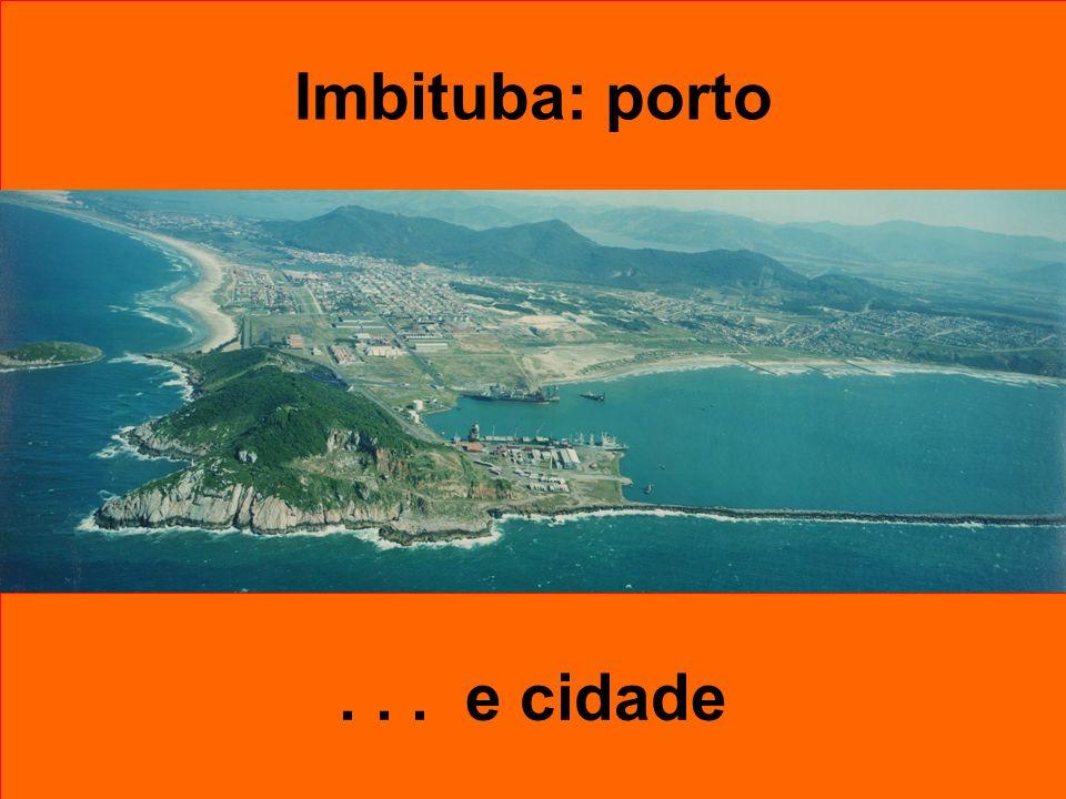 Verão 2006 - 2007 Temporada de Cruzeiros Marítimos na região de influência do Porto de Imbituba 30 km 60 km 120 km