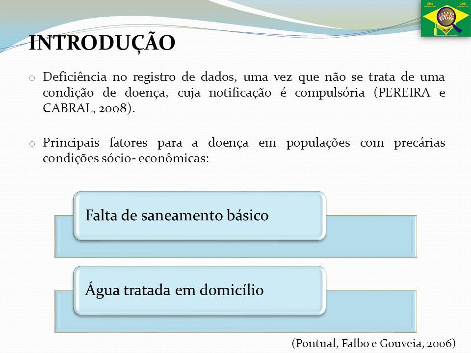 o Deficiência no registro de dados, uma vez que não se trata de uma condição de doença, cuja notificação é compulsória (PEREIRA e CABRAL, 2008). o Pri