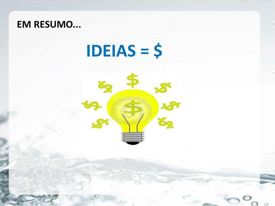 26/05/11 EM RESUMO... IDEIAS = $