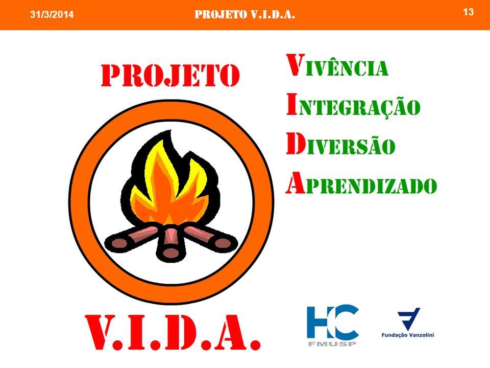 Projeto v.i.d.a. 13 31/3/2014