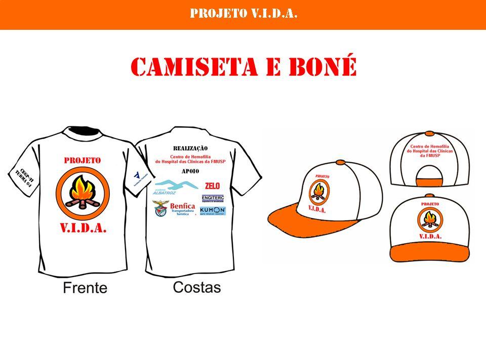 Camiseta e Boné
