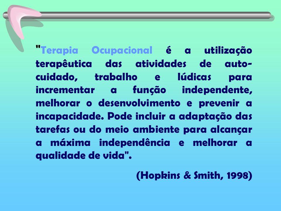 Objetivo: confeccionar adaptações no intuito de facilitar a atuação escolar de crianças portadoras de deficiência física.