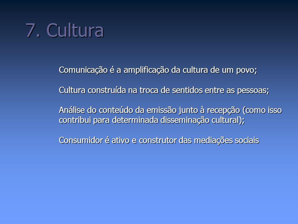 Democratização da comunicação; Idéia crescente nos anos 80 (video, câmera, gravador) Paulo Freire Peruzzo (comunicação e cidadania) Comunicação Popular e alternativa 8.