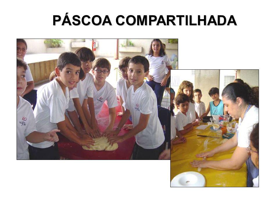 PÁSCOA COMPARTILHADA