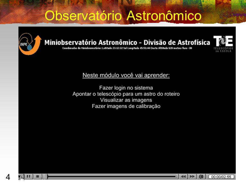 4 Observatório Astronômico Ilan Chamovitz 2007 – ilan@ufrj.br