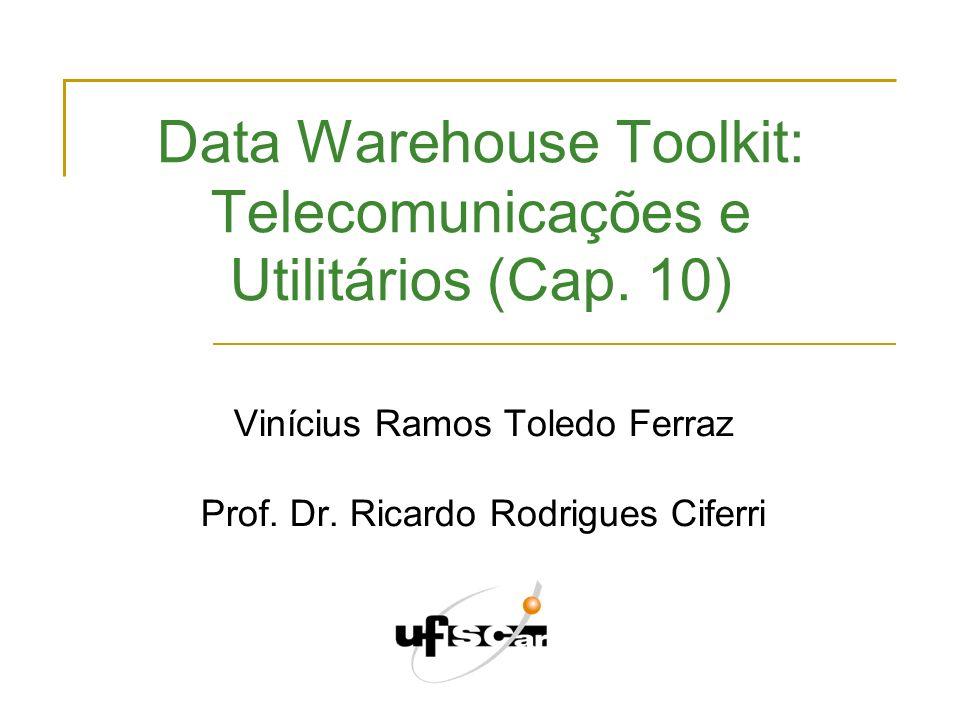 Data Warehouse e OLAP dezembro de 2009 12 Dicas para revisão de projetos Dimensões em excesso (ou em falta) O projeto contém entre 5 e 15 dimensões.