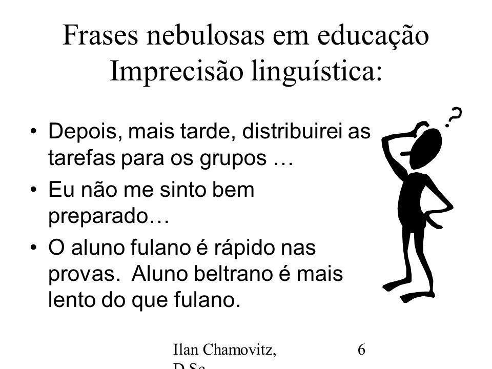 Ilan Chamovitz, D.Sc.