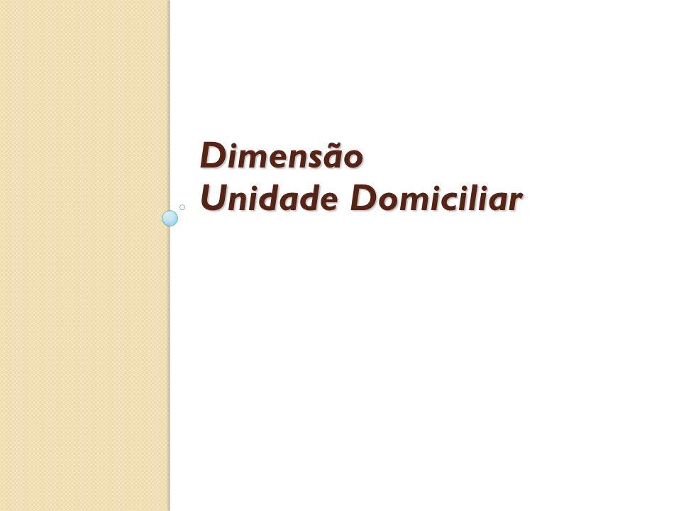 Dimensão Unidade Domiciliar
