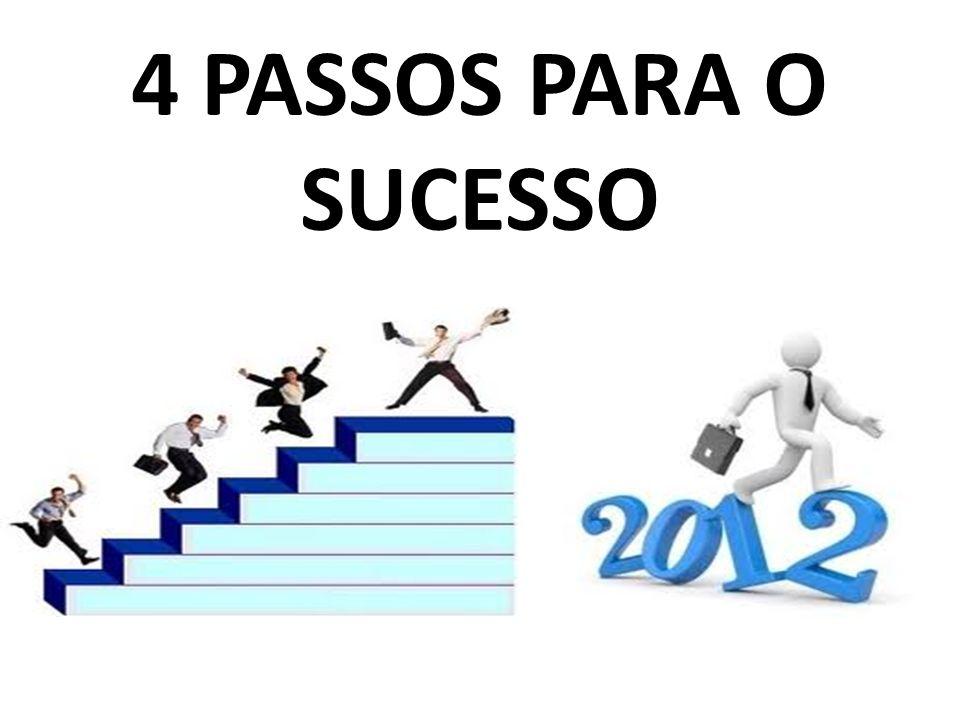 4 PASSOS PARA O SUCESSO
