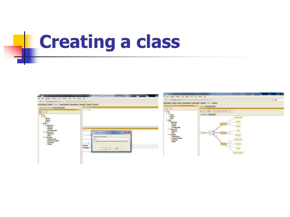 Creating a class