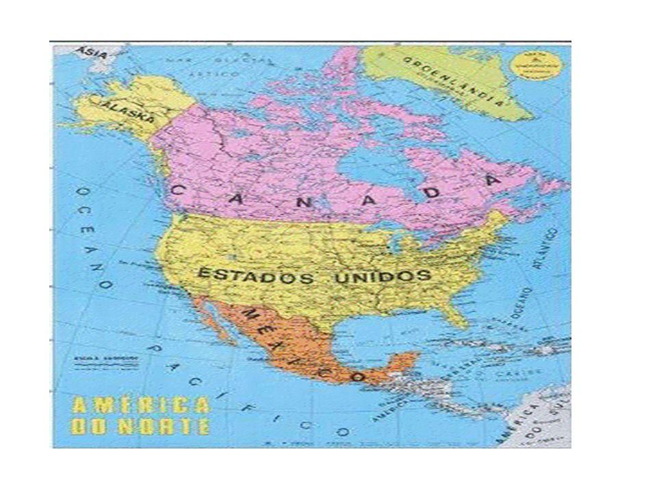 Relevo O relevo da América Anglo-Saxônica da mesma forma que ocorre em todo o continente,pode ser dividido em três porções bem definidas: — Porção ocidental — Porção oriental — Porção central