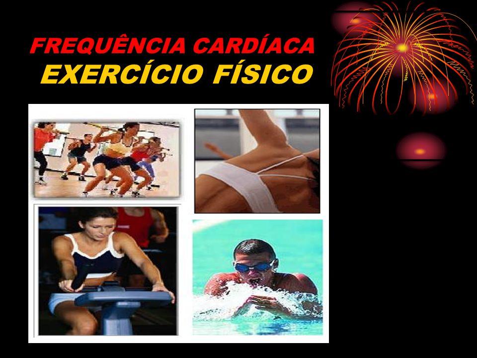 FREQUÊNCIA CARDÍACA EXERCÍCIO FÍSICO