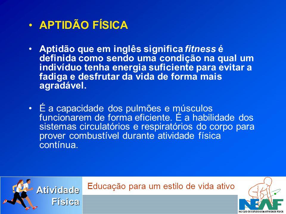 AtividadeFísica Educação para um estilo de vida ativo Saúde Segundo a OMS (1948), Saúde é um completo estado de bem-estar físico, mental, e social e não somente ausência de doença, ou debilidade.