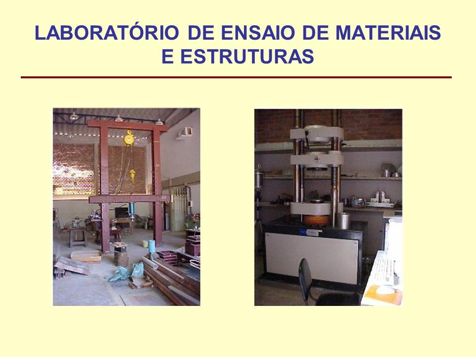 LABORATÓRIO DE ENSAIO DE MATERIAIS E ESTRUTURAS