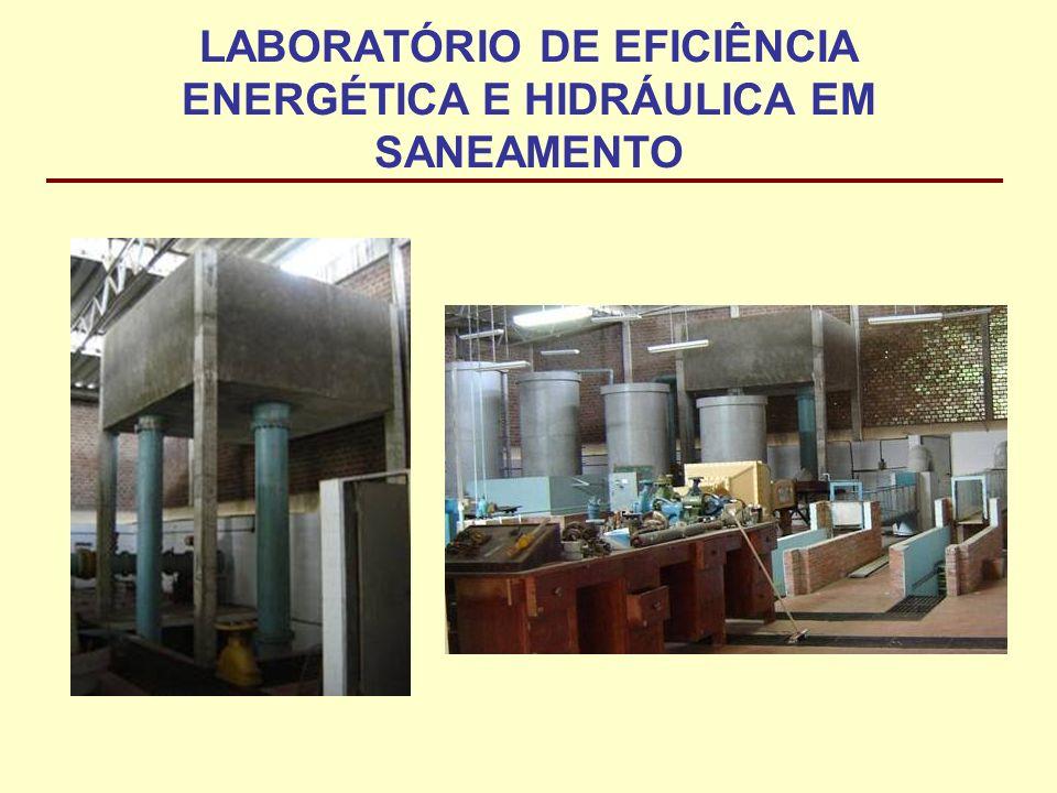 LABORATÓRIO DE EFICIÊNCIA ENERGÉTICA E HIDRÁULICA EM SANEAMENTO