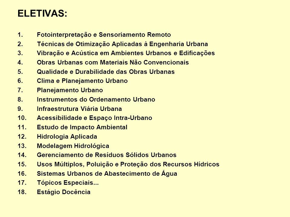 Universidade Federal da Paraíba Centro de Tecnologia - Campus I 58051-900 João Pessoa – PB (83) 3216-7393 (manhã), (83) 3216-7684 ramal 27 Fax: (83) 3216-7179 ppgeu@ct.ufpb.br www.ct.ufpb.br/pos/engurbana PPGEU PROGRAMA DE PÓS-GRADUAÇÃO EM ENGENHARIA URBANA