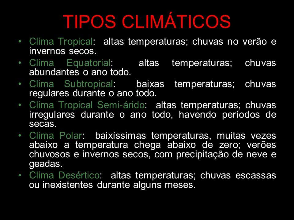 ANÁLISE DE CLIMOGRAMAS Observa-se a quantidade mensal da pluviosidade e da temperatura.