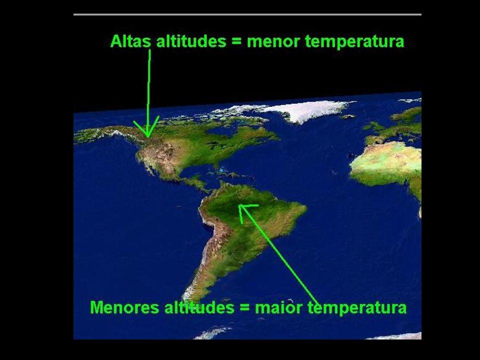 MARITIMIDADE / CONTINENTALIDADE Maritimidade: as regiões que apresentam litoral, têm seu clima amenizado pela presença do mar (verões menos quentes e invernos menos frios).