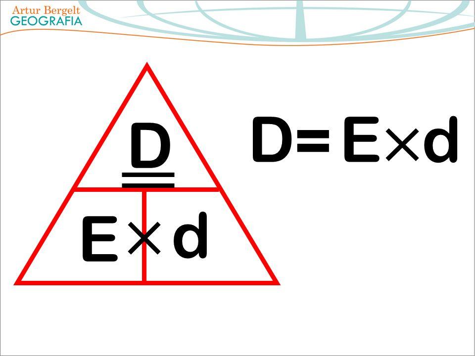 D E d D = Ed