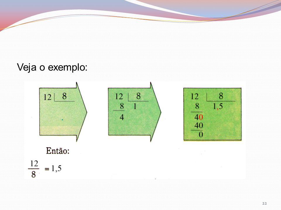 Veja o exemplo: 22