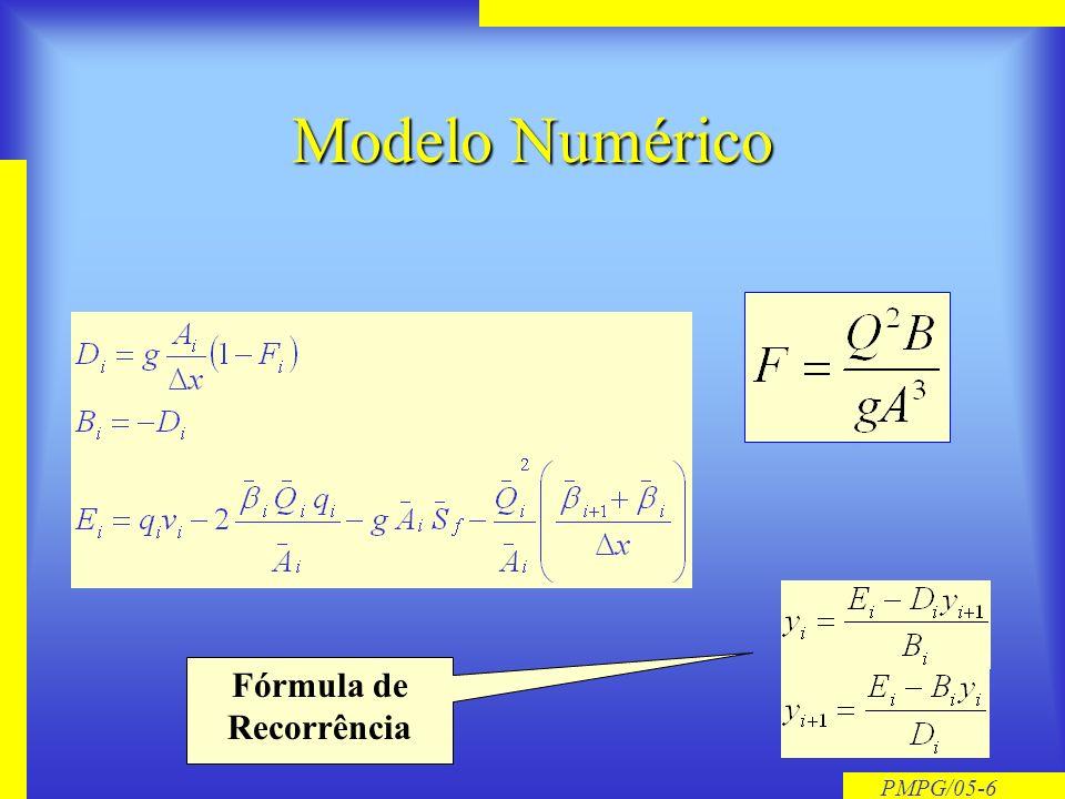 PMPG/05-5 Cálculo da Linha dágua