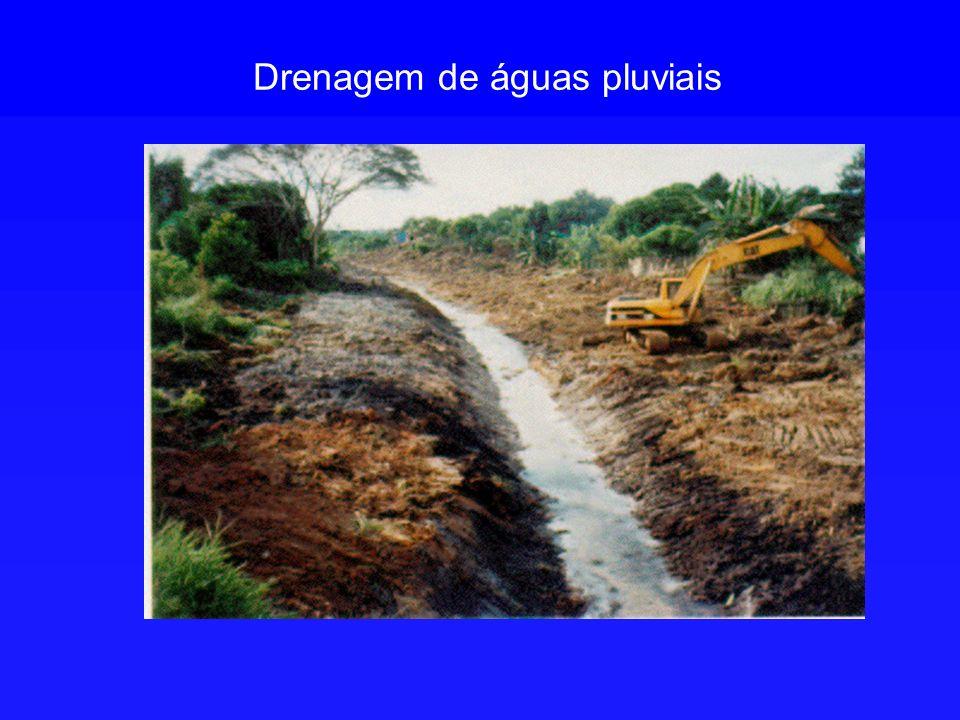 Drenagem de águas pluviais