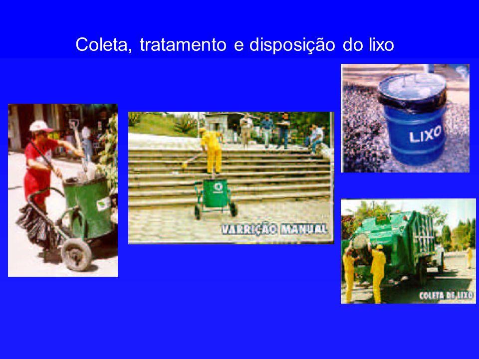 Coleta, tratamento e disposição do lixo