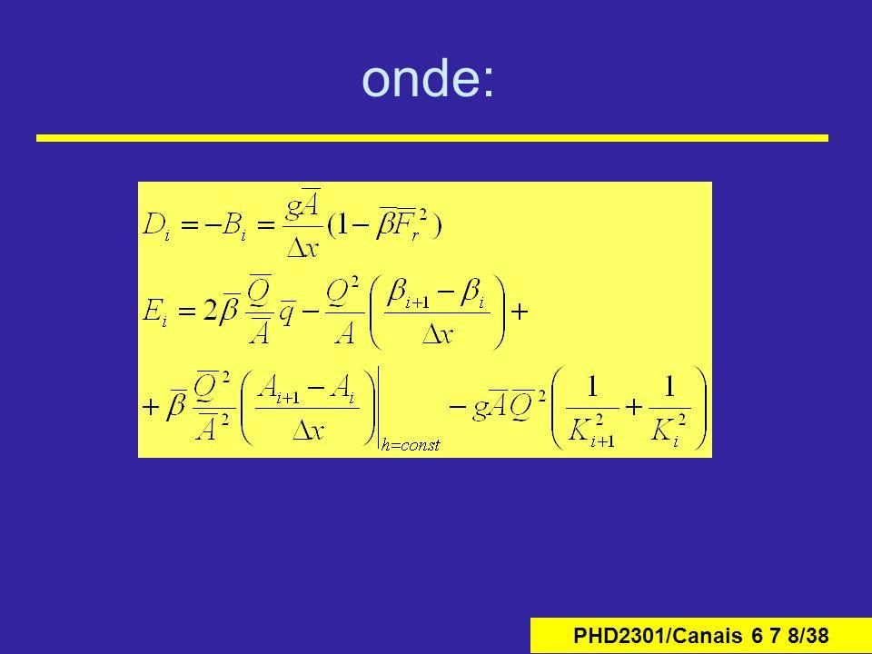 PHD2301/Canais 6 7 8/38 onde: