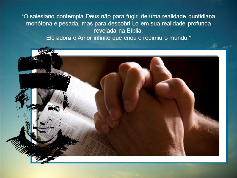 O Deus com o qual comunica é um Pai rico de misericórdia, um Filho encarnado entre nós e que nos redime, um Espírito inserido na aventura humana como poderoso santificador; resumindo, um Deus verdadeiramente imerso em toda realidade da pessoa humana.