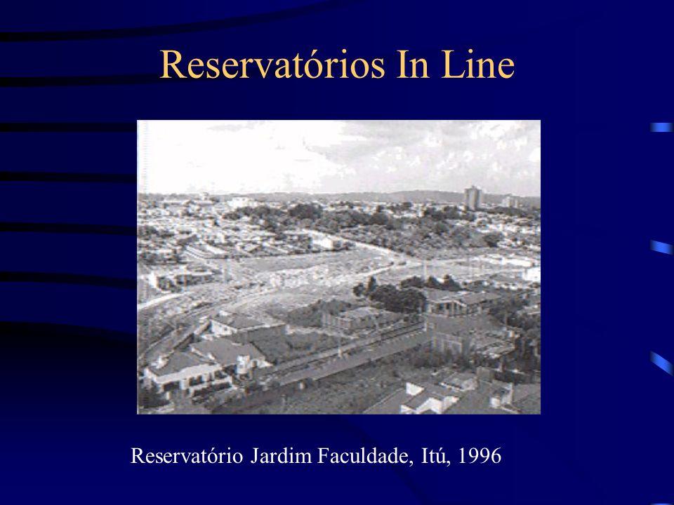 Reservatórios In Line Reservatório Jardim Faculdade, Itú, 1996