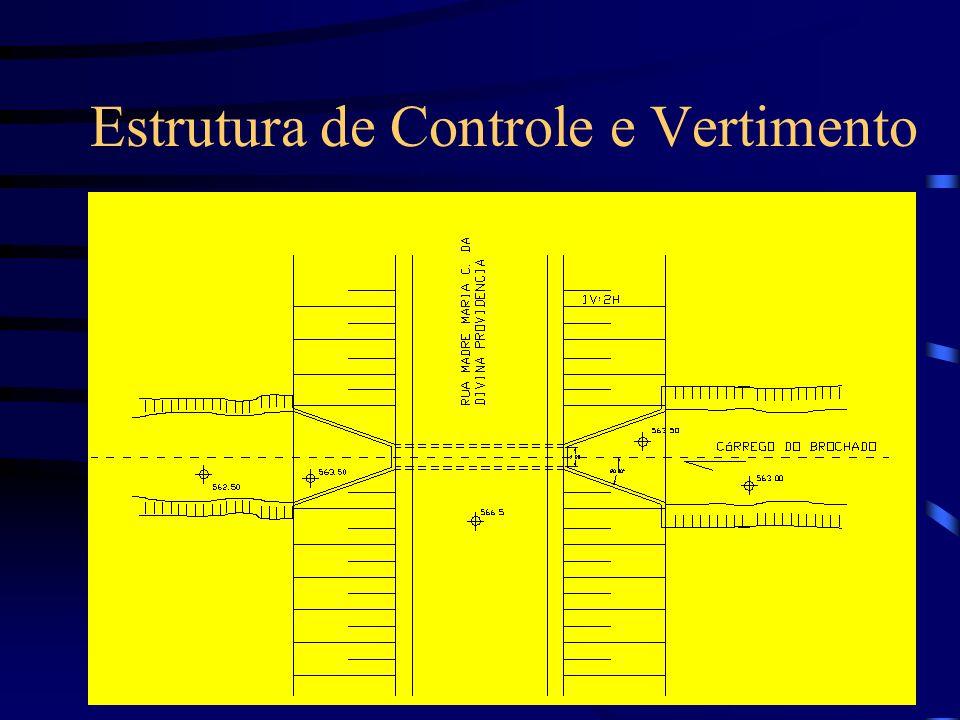 Estrutura de Controle e Vertimento