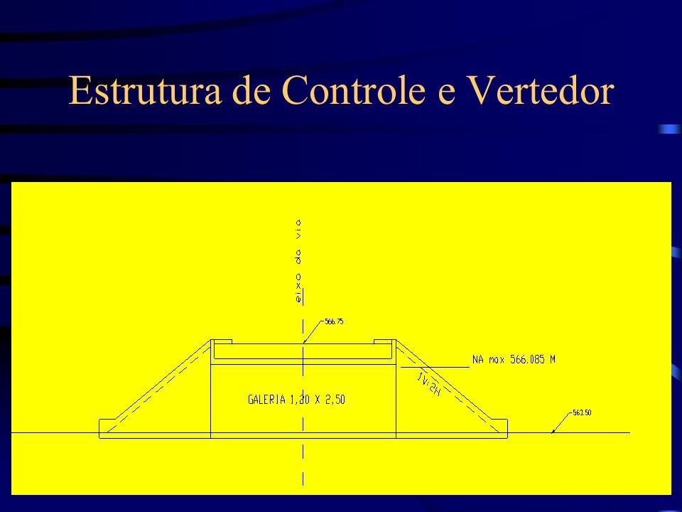 Estrutura de Controle e Vertedor