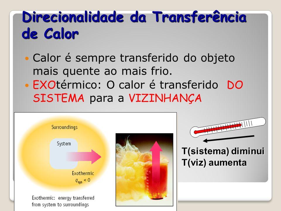 Termodinâmica Termodinâmica é a ciência da transferência de calor (energia) Energia térmica é associada aos movimentos moleculares. Calor é transferid